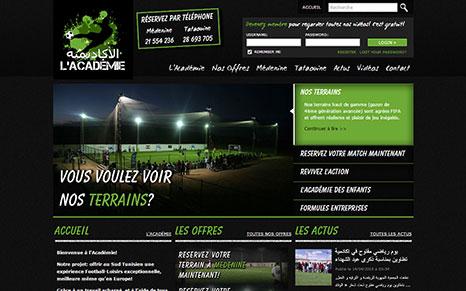 Academie Website