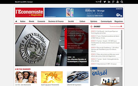 L'economiste Maghrebin Website